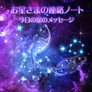 連絡ノート(メッセージ)魚座